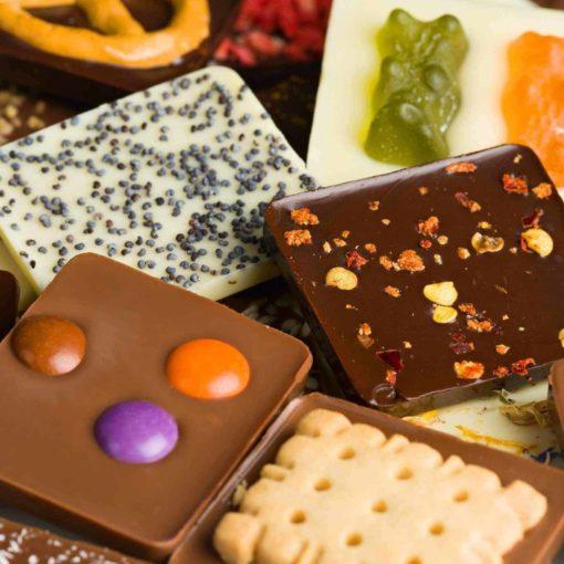 Schokolade Minitafeln