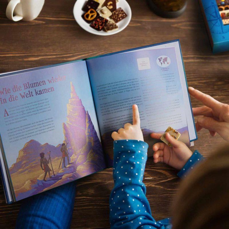 Märchen Weltreise Kind Märchenburch